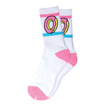 Odd Future Donut Crew Socks (White)