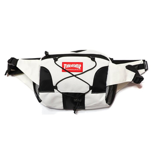 Thrasher Hometown Ripstop Waist Bag (White)