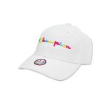 Champion Life® Classic Twill Cap With Multi Pop Script (White)
