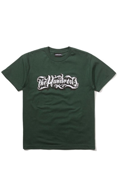 The Hundreds x Mister Cartoon Wordmark ( Forest)