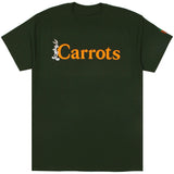 Carrots X Looney Tunes Bugs Wordmark Tee (Forest Green)