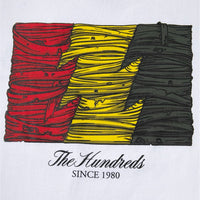 The Hundreds x Blue Wrapped Flag Tee (White)