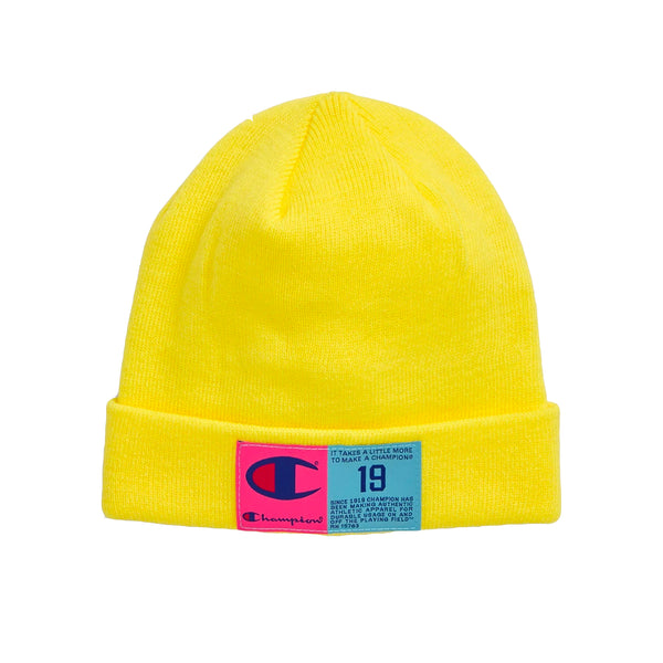 Champion Pop Jack Tag Beanie (Yellow)