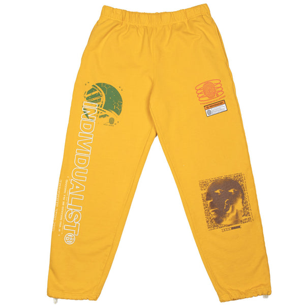 Indvlst Cubism Sweatpants (Mustard)