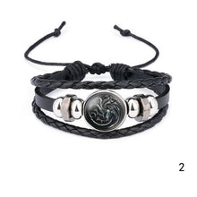 Load image into Gallery viewer, Game of Thrones Leather Bracelet