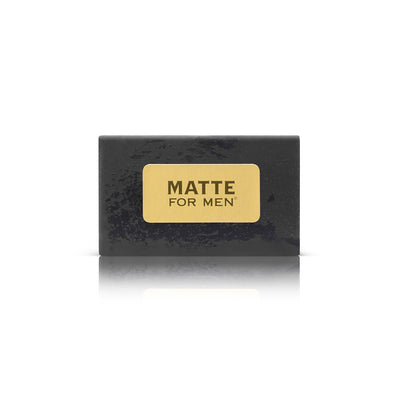 Matte For Men Detoxifying Peppermint Charcoal Cleansing Bar