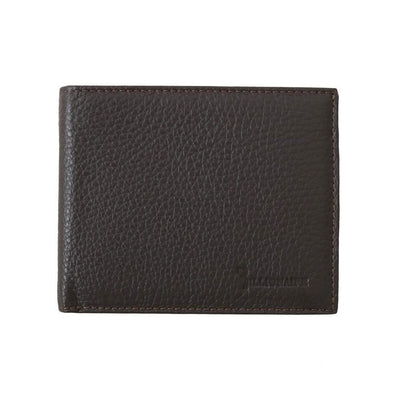 Billionaire Italian Couture - Brown Leather Bifold Wallet