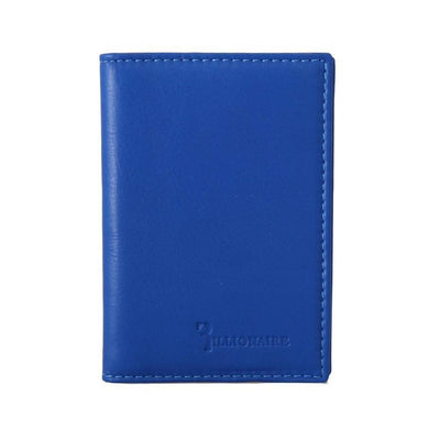 Billionaire Italian Couture - Blue Leather Bifold Wallet | Londress