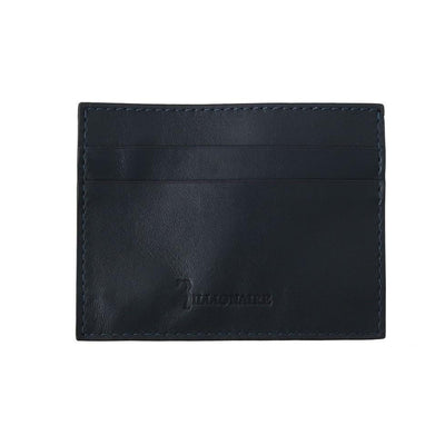 Billionaire Italian Couture - Blue Leather Cardholder | Londress