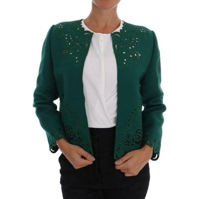 Dolce & Gabbana - Green Wool Jacket