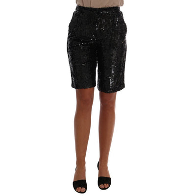 Dolce & Gabbana - Black Sequined Shorts, Londress