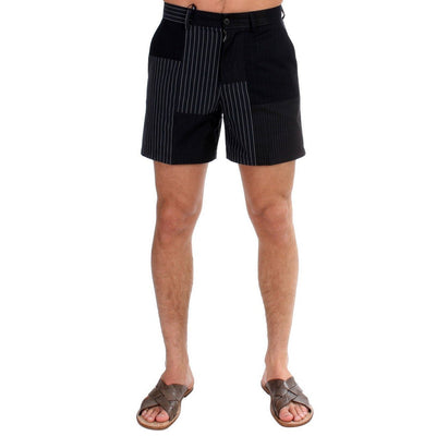Dolce & Gabbana - Black Striped Shorts | Londress