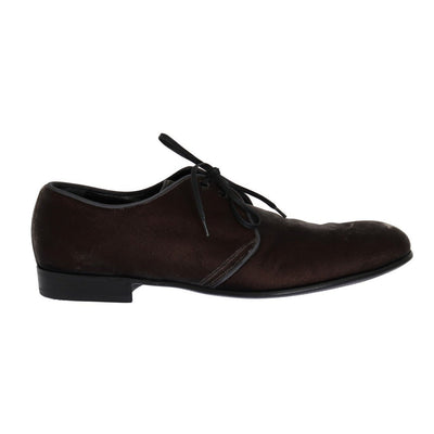 Dolce & Gabbana - Brown Viscose Dress Shoes, Londress