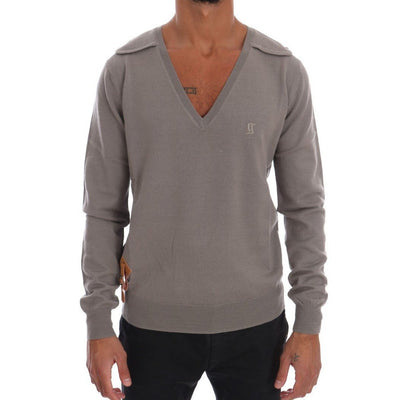 Galliano - Grey Knitted Sweater