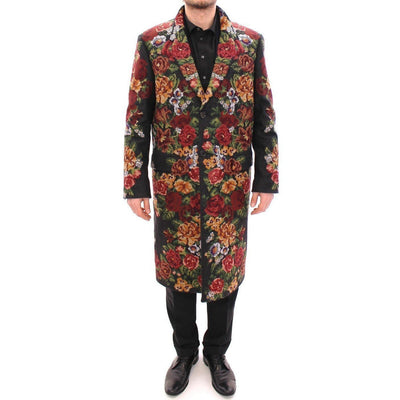 Dolce & Gabbana - Multicolor Floral Coat | Londress