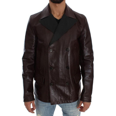 Dolce & Gabbana - Brown Leather Jacket | Londress