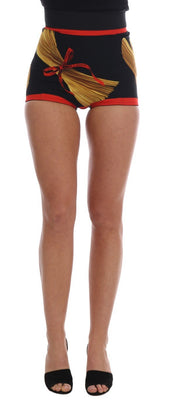 Dolce & Gabbana - Pasta Sicily Silk Mini Hot Pants Shorts, Londress