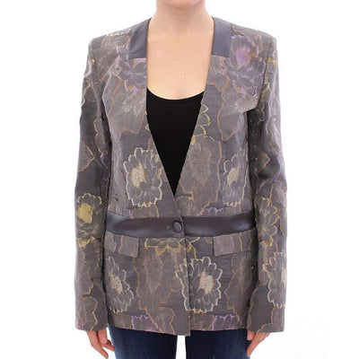 Roberto Fragata - Silk Floral Cotton Blazer | Londress