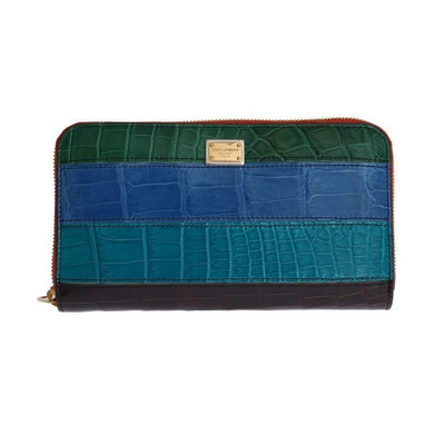 Dolce & Gabbana - Multicolor Leather Continental Wallet, Londress