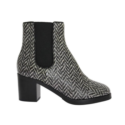 Dolce & Gabbana - Black & White Leather Boots, Londress