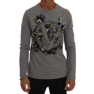 Versace Jeans - Grey Long Sleeve T-Shirt, Londress