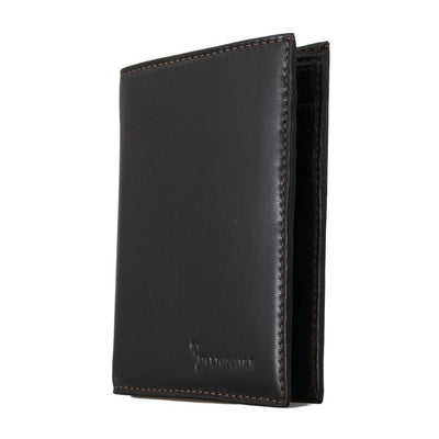 Billionaire Italian Couture - Dark Brown Leather Wallet