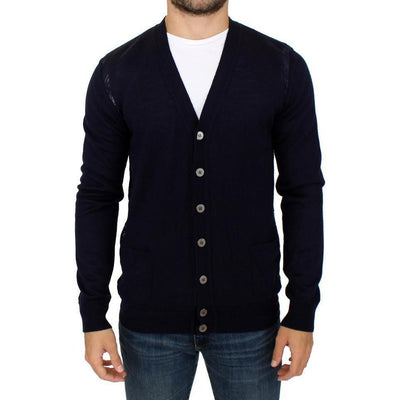 Karl Lagerfeld - Blue wool cardigan | Londress