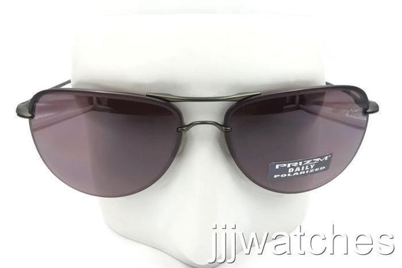 6eabbb373f3 New Oakley Tailpin Carbon PRIZM Daily Polarized Aviator Sunglasses OO4086-04