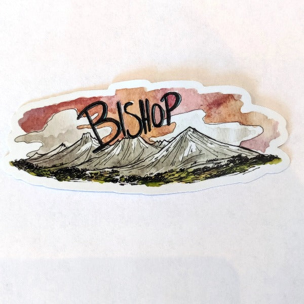 Bishop Stickers