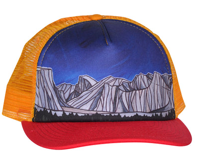 Yosemite Valley Trucker Hat