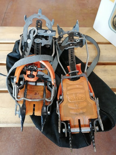 Used CAMP Cassin Ice Climbing Crampons