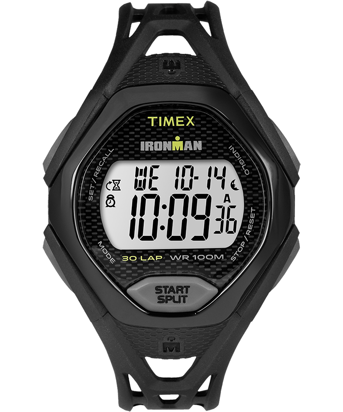 IRONMAN Sleek 50 Full-Size Resin Strap Watch