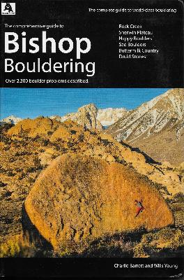 Rental Bishop Bouldering Guide Book