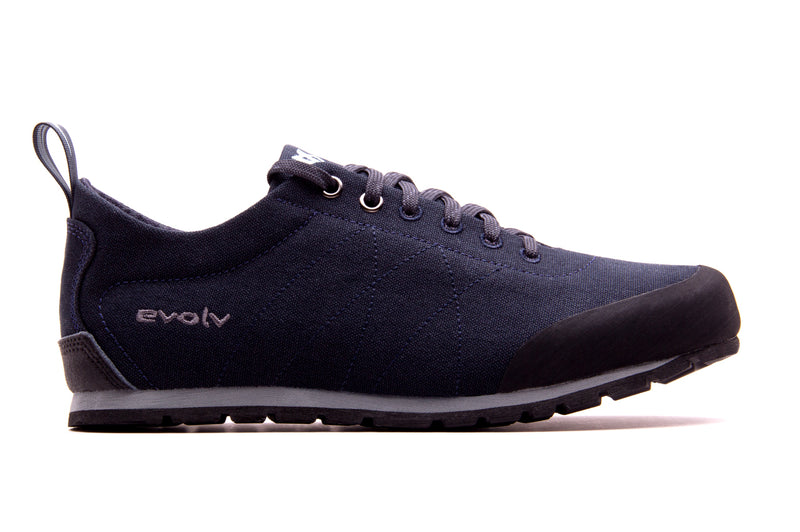 An Evolv Women's Cruzer approach shoe that is blue
