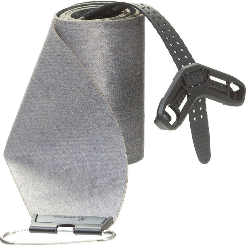 A neon Yellow ski boot with three black buckles and a black Roxa logo, a black liner, and black soles, on a white background.