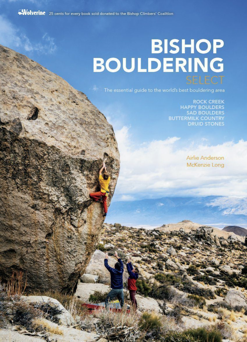 Rental Bishop Bouldering Select Guide Book
