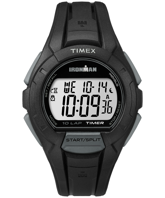 IRONMAN Essential 10 Full-Size Resin Strap Watch