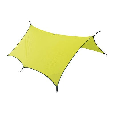 Ultralight 30D Sil Nylon Tarp Shelter Lime