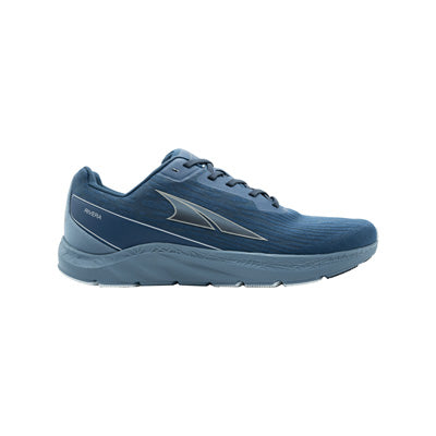 An Altra Rivera running shoe that is blue