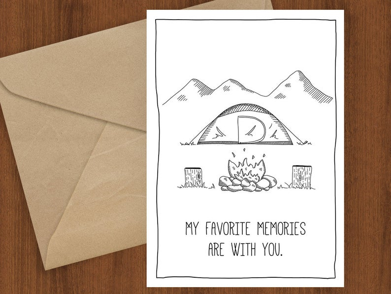 Favorite Memories Greeting Card