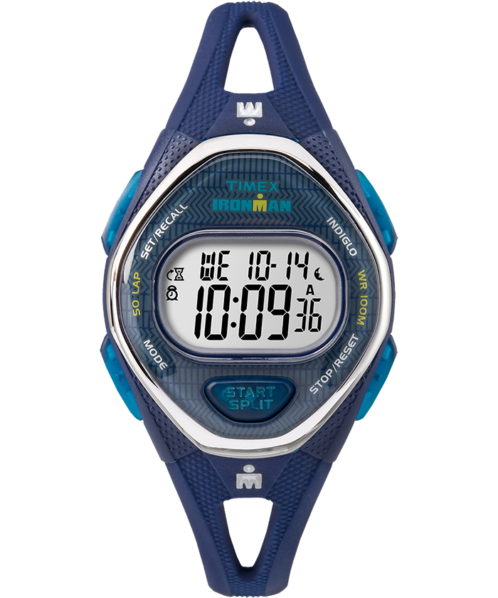 IRONMAN Sleek 50 Mid-Size Silicone Strap Watch