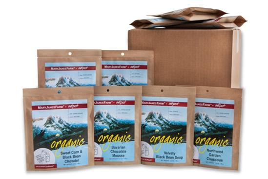 Mary Jane's Farm Backpacking Meals