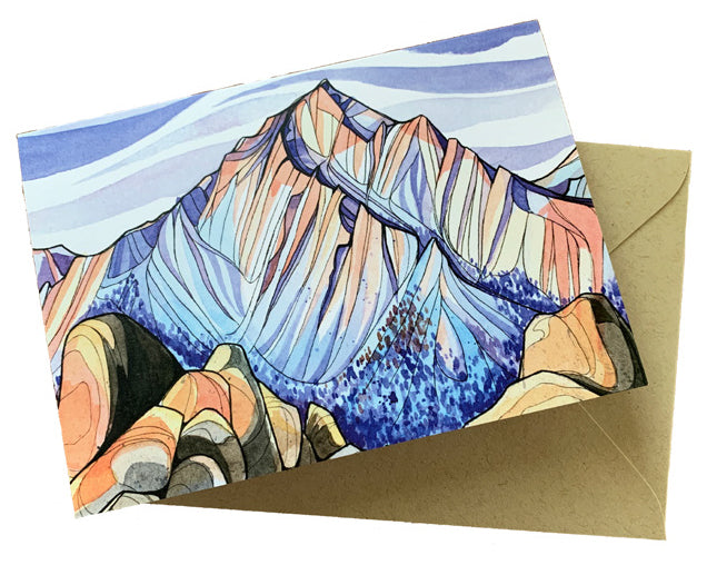 Alex Bailey Lone Pine Peak Greeting Cards