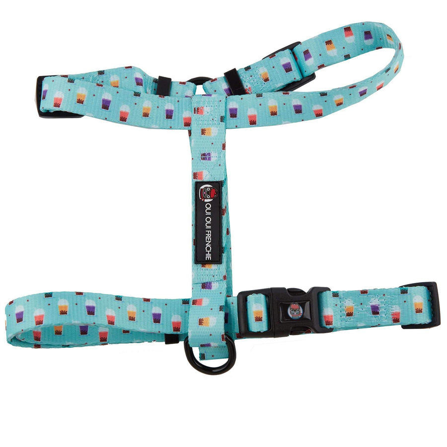 Oui Oui Frenchie Adjustable Harnesses One-Size Fits Most Oui Oui Frenchie Adjustable Harness - Boba