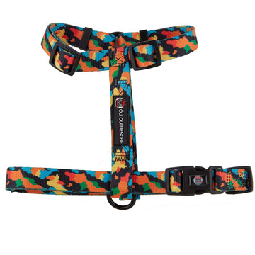 Oui Oui Frenchie Adjustable Harnesses One-Size Fits Most Oui Oui Frenchie Adjustable Harness - Camo