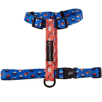 Oui Oui Frenchie Adjustable Harnesses One-Size Fits Most Oui Oui Frenchie Adjustable Harness - Sushi