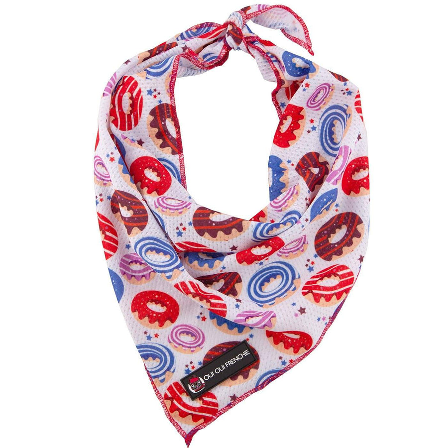 Oui Oui Frenchie Bandanas Oui Oui Frenchie Bandana - Donuts