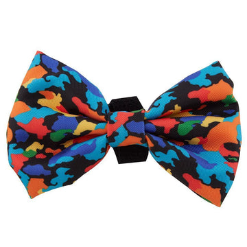 Oui Oui Frenchie Bow Ties One-Size Oui Oui Frenchie Bow Tie - Camo