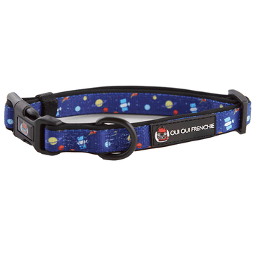 Oui Oui Frenchie Comfort Collars Oui Oui Frenchie Comfort Collar - Space