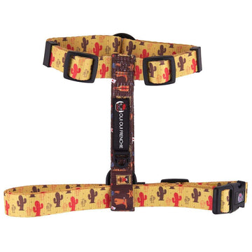 Oui Oui Frenchie Strap Harnesses One-Size Fits Most Oui Oui Frenchie Strap Harness - Texas
